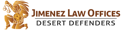 Jimenez Law Offices – Palm Desert Defense Attorney / Palm Springs DUI Attorney Mobile Retina Logo