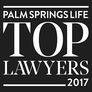 Palm Springs Top Lawyers 2017 - Criminal Defense Category