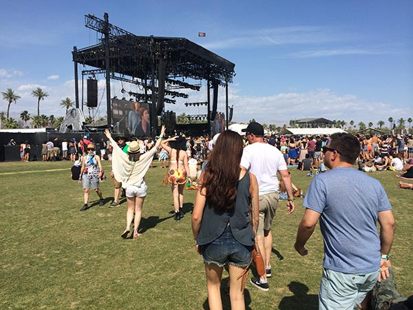 Coachella Fest and the Cops