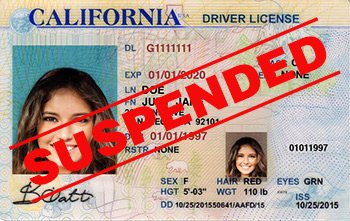 Suspended Drivers License